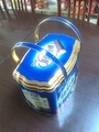 Handle tinplate cookie,biscuit tin box