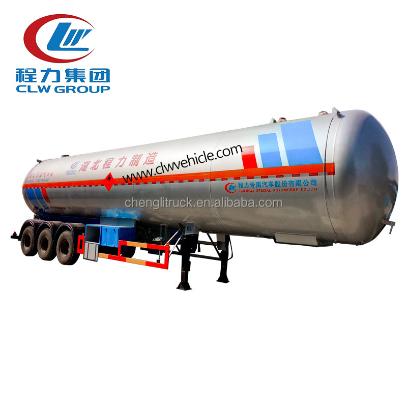 High quality Liquified petrol gas 3 axle lpg tank propane semi trailer for sale