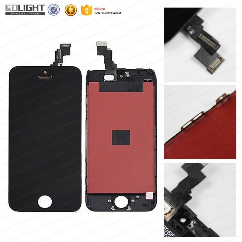 Double IC tianma for iphone 5 lcd, for iphone 5 lcd screen, for iphone 5 lcd digitizer replacement with best quality