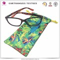Custom Heat Transferal Printing Microfiber Eyewear/Sunglasses Soft Cloth Pouch