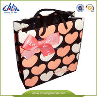 BSCI factory custom made paper gifts shopping bags