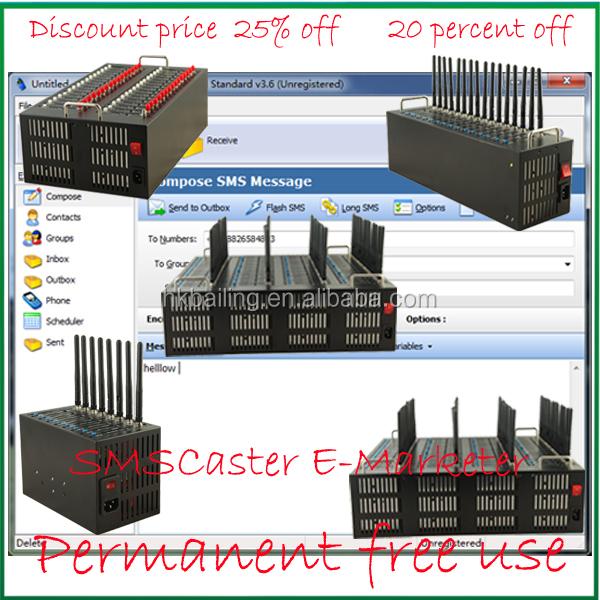 4G LTE FDD modem USSD AT command bulk gsm gateway 4 port gsm modem pool