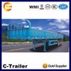 Sidewall Cargo Trailer In Truck Semi Trailer 40 Ton Loading Capacity