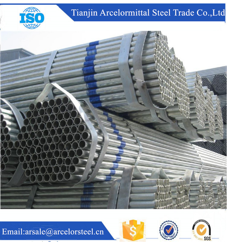 Trade Assurance High Zinc Coating ASTM A53 Both End Screwed Galvanized Steel Pipe alibaba website