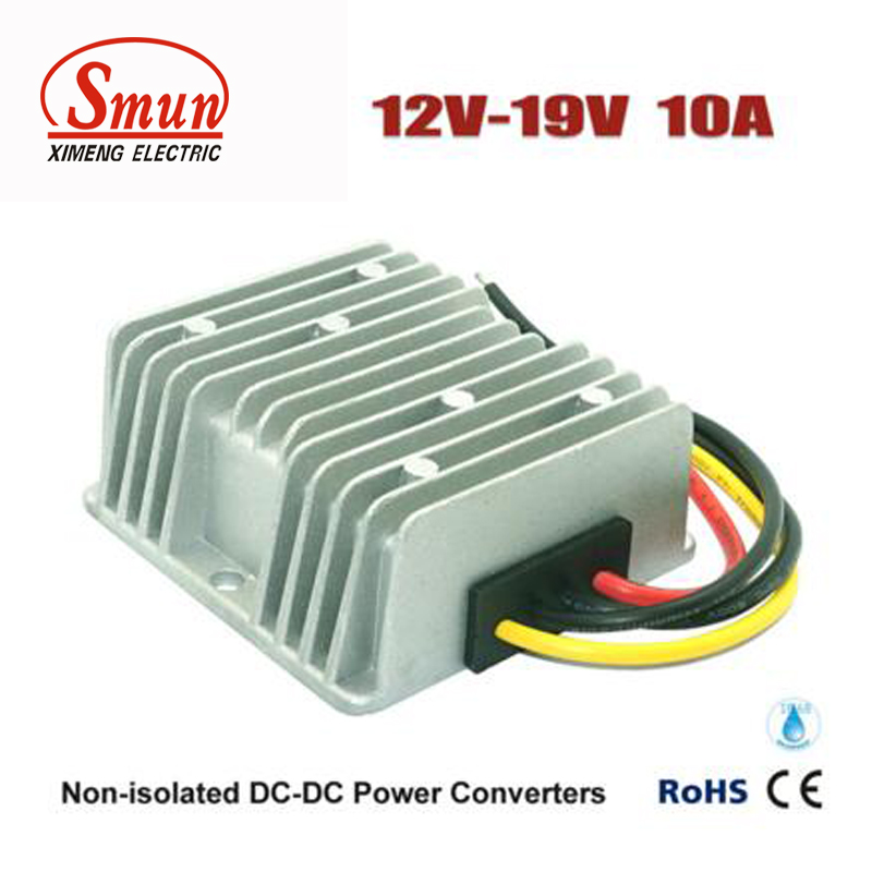 DC DC Converter 12V to 19V 10A Laptop Power Supply With Waterproof IP68