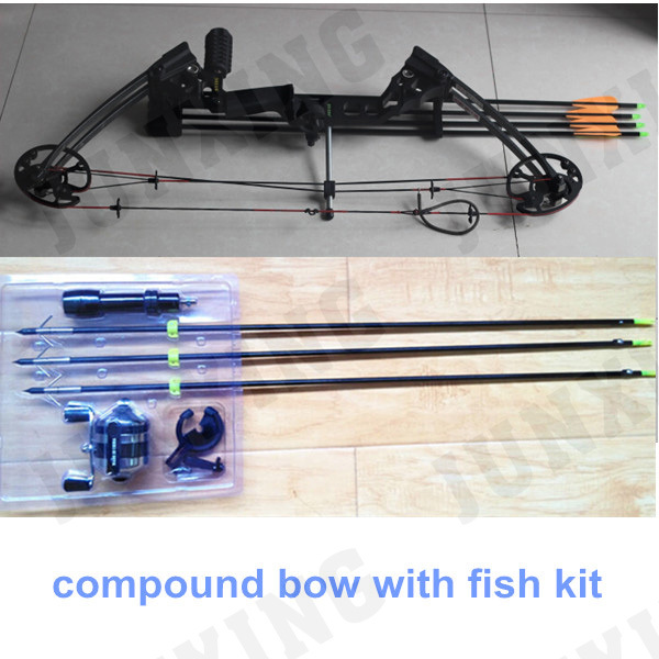 Hunting compound bow with fish kit buy hunting compound for Fishing bow kit