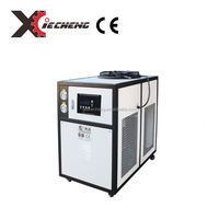 heat exchanger water cooling industrial chiller price