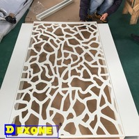 aluminum perforated laser cut for art panels metal & carved fencing panel & ceiling wall panels