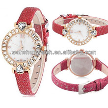 Fashion jewelry brand quartz movt quartz lady watch