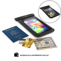 Touch Screen Plastic Transparent Phone Case Waterproof Bag