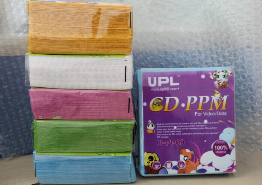 High quality CD case DVD sleeves UPL CD bags