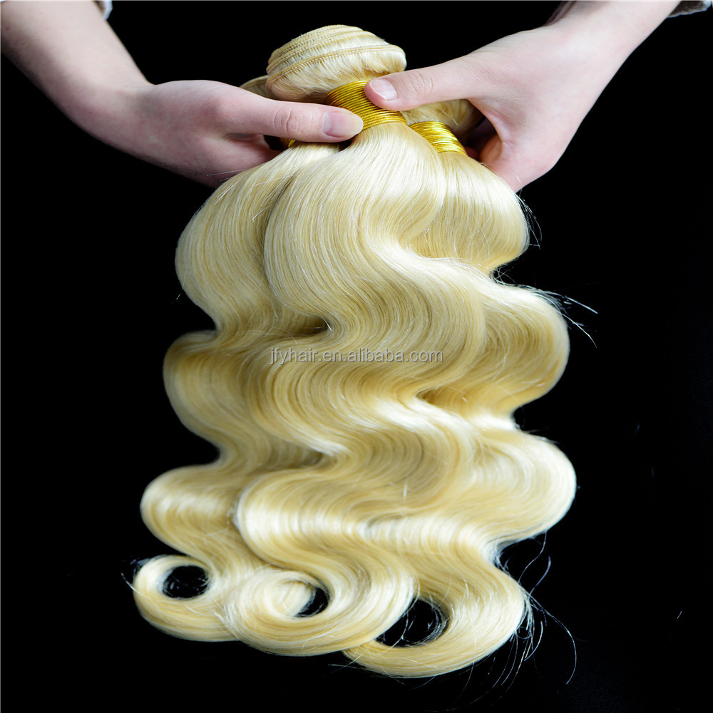 Brazilian 613 blonde hair weave,blonde human hair weave,body wave virgin hair