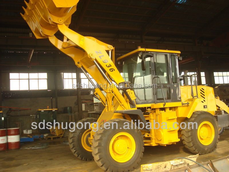 2.0CBM bucket wheel loader ZL30