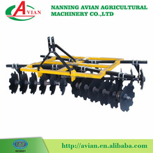 30hp tractor mounted 18 pieces disc harrow/harrow plough/disc plough