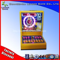 Coin pusher apex slot game machine casino mini roulette machine