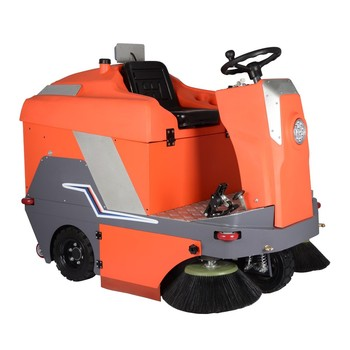 PB135 Road manual sweepers pushing floor electric sweeper