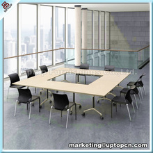 (SP-FT412) Used office furniture laminated top conference table