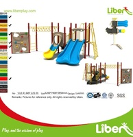 China Liben Commercial Plastic toys Used Children Park outside play toys