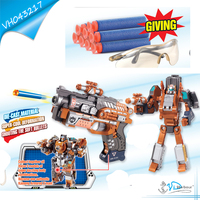 Hot Selling Boy Favourite Transforming Robot Diecast Gun