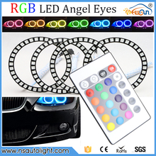rgb color led angel eyes for bmw e60,angel eyes headlights 40mm 50mm 66mm 72mm 75mm 80mm 90mm 100mm 105mm 115mm 120mm 140mm
