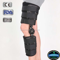 POST-OP Hinged Knee Brace H1 -ROM Motion Control Cool durable flexion and extension soft foam