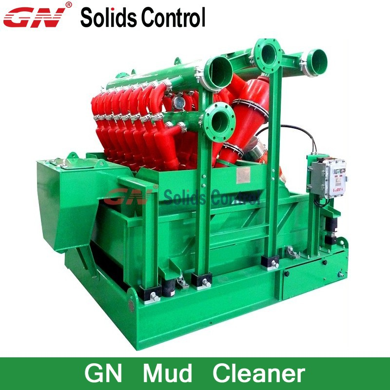 Oilfiled Drilling Mud Cleaner/Solids Control mud cleaner manufacture
