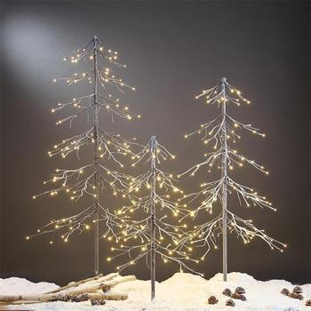 2017 Best Selling112 led Falling Snow Christmas Tree