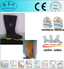China manufacture High quality rubber rainshoes safety work boots