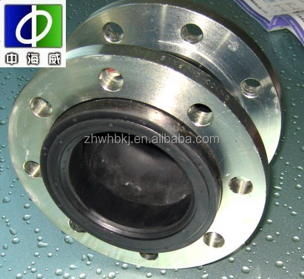 din double sphere screwed rubber expansion joints