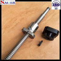 China low price SFU2005 Ball bearing guide screw,cheap ball screw,ballscrew