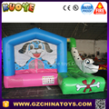 2017 dog inflatable bouncy house with slide