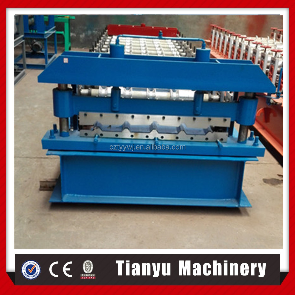 TY coloured steel roofing European roll forming machine