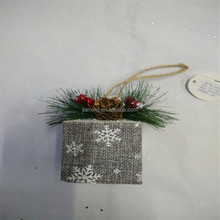 christmas decorative glitter foam giftbox