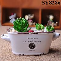 Zakka style Japanese flower pots