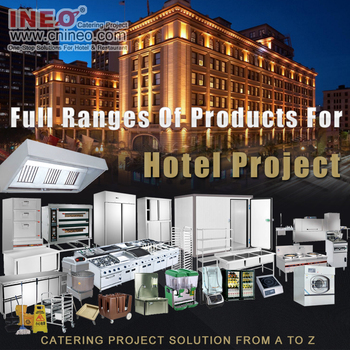 Commercial 5 star hotel kitchen equipment