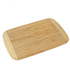 Kitchen Bread Cheese Chopping Blocks Natural Bamboo Cutting Board