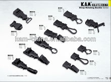 KAM differnet of plastic strap rotation Buckles