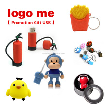 OEM USB drive cartoon usb flash drive custom logo promotional gift/ business sales gift usb memory