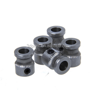 2015 High quality 3D printer MK8 stainless steel extruder gear