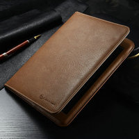 CaseMe Multifunction pu leather book style folding stand cover for iPad table case for iPad air 2