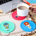 New products 2017 innovative product USB silicone heat mat coffee cup mat