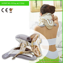 Cervical traction neck massager for neck pain relief