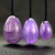 (Drilled or Undrilled) wholesale natural kegel jade eggs amethyst crystal yoni eggs