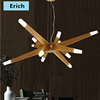 New Design Modern Wood Acrylic Chandeliered