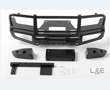 Black TRIFECTA FRONT BUMPER FOR LAND CRUISER LC70 BODY