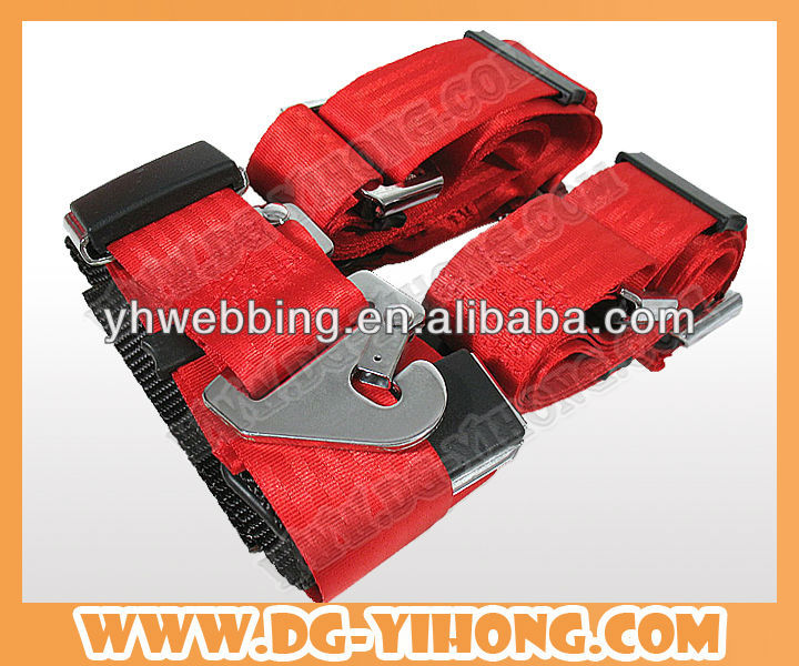 TOP SALE POLYESTER STRONG PERSONAL INDUSTRIAL SAFETY BELT USE TO CAR