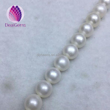 11--12mm AAAA nice luster round cultured freshwater pearls big size natural round pearls for making pearl necklace