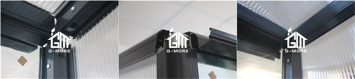 G-MORE Newest Heavy Duty Super Strong Easy DIY Garden Sunny Room - 242 X 392 X 237CM