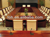 high end antique conference table office furniture with power socket (FOHUS-05)
