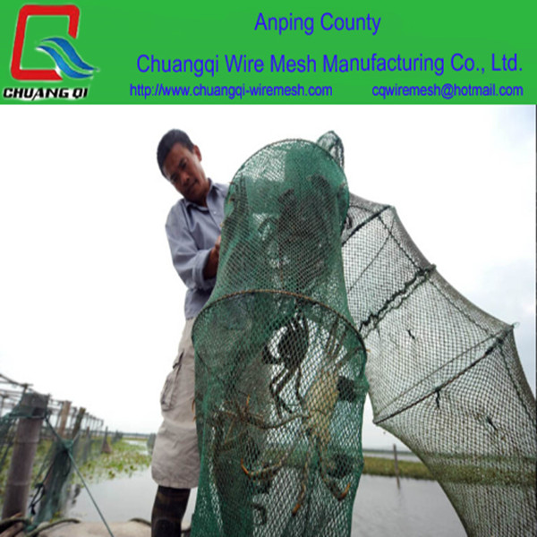 New Foldable Crab Fish Pot Crawdad Lobster Shrimp Fishing/fish Net Eel Bait Trap Cast Net